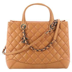 Chanel Easy Shopping Tote Quilted Lambskin Medium