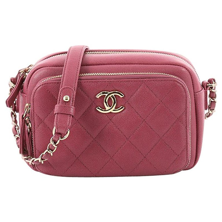 0af881d58a02c Chanel Business Affinity Camera Case Bag Quilted Caviar Small at 1stdibs