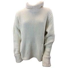 Lauren Hansen Off White Knit Sweater
