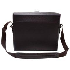 Louis Vuitton Steve Dark Brown Monogram Glace Leather Document Bag