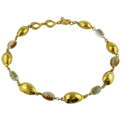 Yves Saint Laurent YSL Vintage Spring Summer 1994 Seashell Necklace