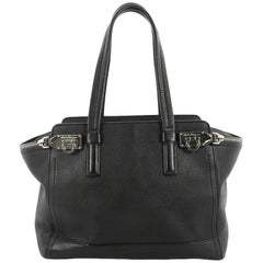 Salvatore Ferragamo Verve Tote Leather Medium