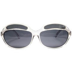New Vintage Christian Roth Translucent Avant Garde Hand Made In Italy Sunglasses