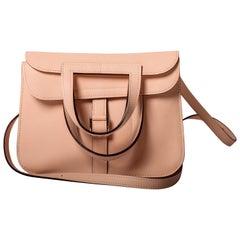 Hermes Rose Eglantine Halzan Mini Bag