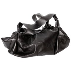 The Row Leather Ascot Bag in Medium