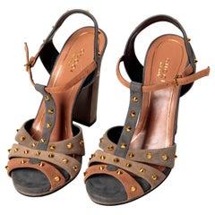Gucci Jacquelyne Sandals - Size 36.5 / US 6.5
