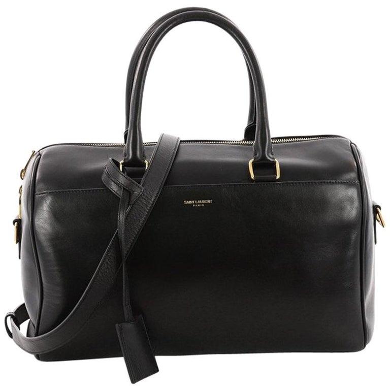 Saint Laurent Classic Duffle Bag Leather 6 at 1stdibs 0575b73ffda1d