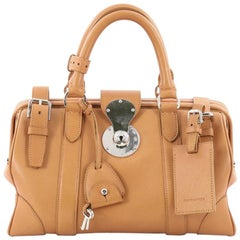 Ralph Lauren Collection Ricky Top Handle Bag Leather Medium