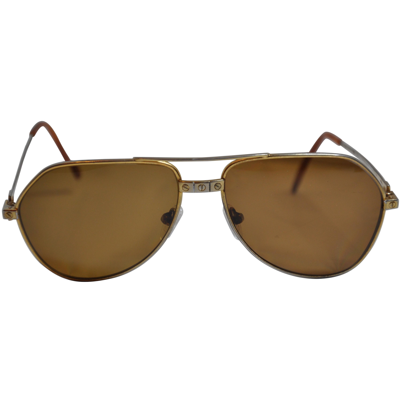 """Cartier Signature Etched """"Love"""" Prescription Sunglasses"""