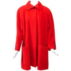 Tiktiner Short Red Coat