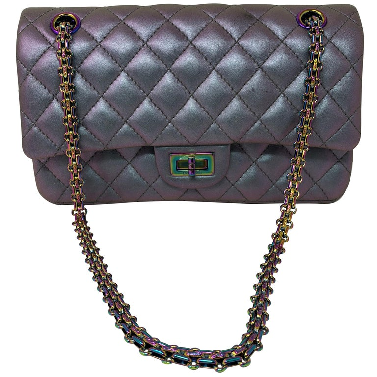 Chanel Iridescent Reissue 2.55 Double Flap