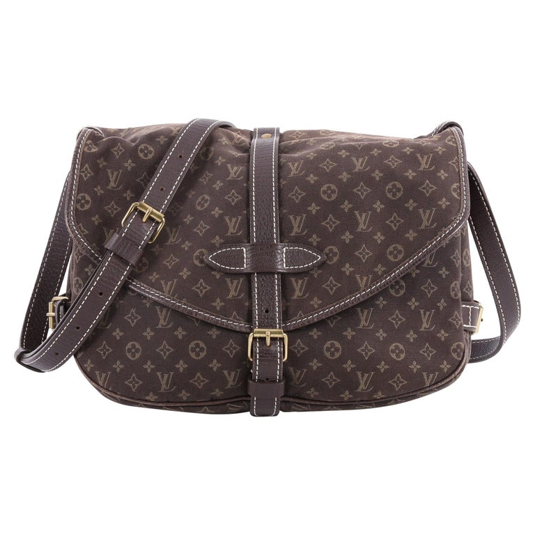 Louis Vuitton Saumur Handbag Monogram Idylle PM at 1stdibs a4793656346c7