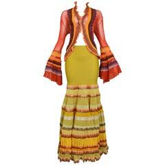 Jean Paul Gaultier Multi-Color Tiered 'Frida' Ensemble