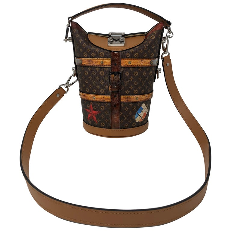 5d376b41ac86 Louis Vuitton The Duffle Time Trunk Handbag at 1stdibs