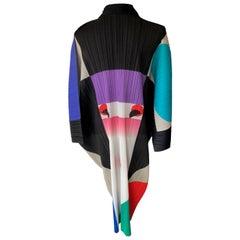 , Issey Miyake ,IKKO TANAKA, Pleats Kimono Jacket