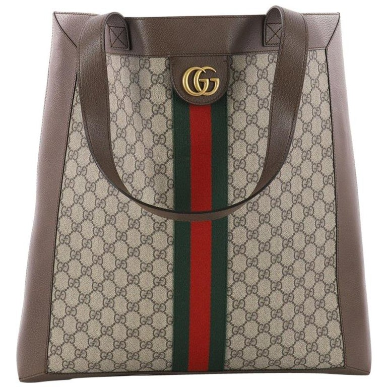 7446ff61 Gucci Ophidia Soft Open Tote GG Coated Canvas Large at 1stdibs