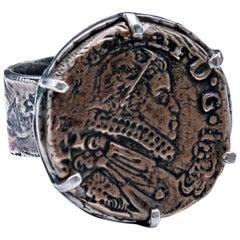 King Phillip Prog Set Coin Ring