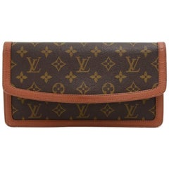 Vintage Louis Vuitton Pochette Dame Monogram Canvas Clutch Bag