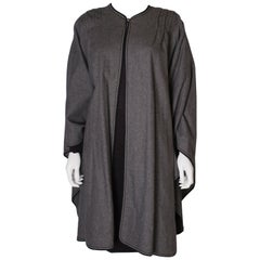 Windsmoor Vintage Grey Wool Cape