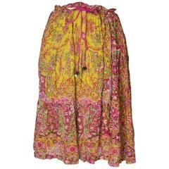 Vintage Etro Vintage Silk Skirt