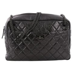 Chanel Reissue Camera Bag Quilted Aged Calfskin Large
