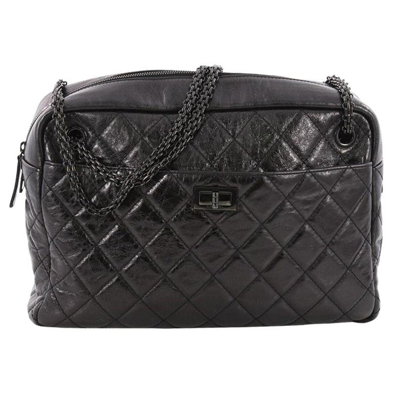 b55cc1ba3d974d Chanel Reissue Camera Bag Quilted Aged Calfskin Large at 1stdibs