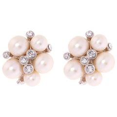 Simon Harrison Audrey Freshwater Pearl Earrings