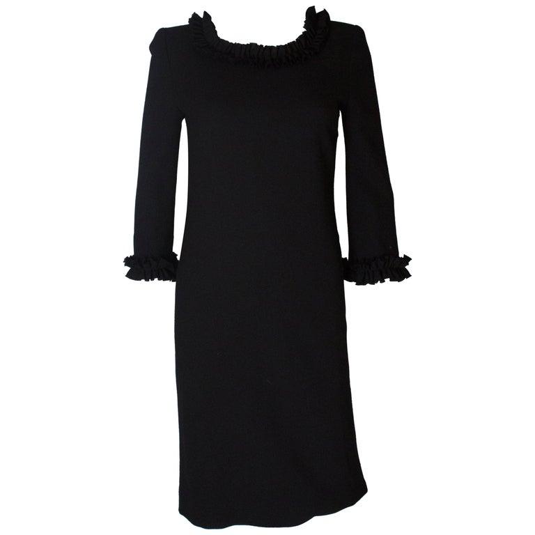 Vintage Jean Muir Little Black Dress