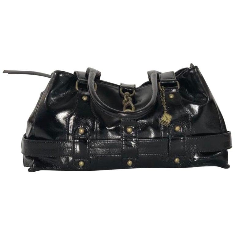 Helen Welsh Patent Leather Handbag