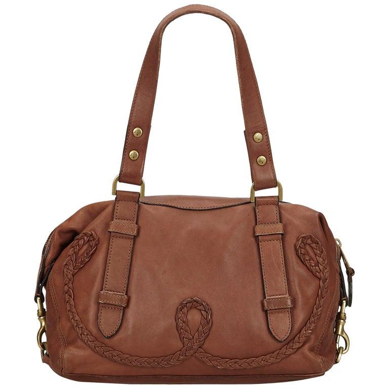 7e27fc4739 Mulberry Brown Leather Shoulder Bag at 1stdibs