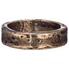 Bronze Claro Stacking Ring