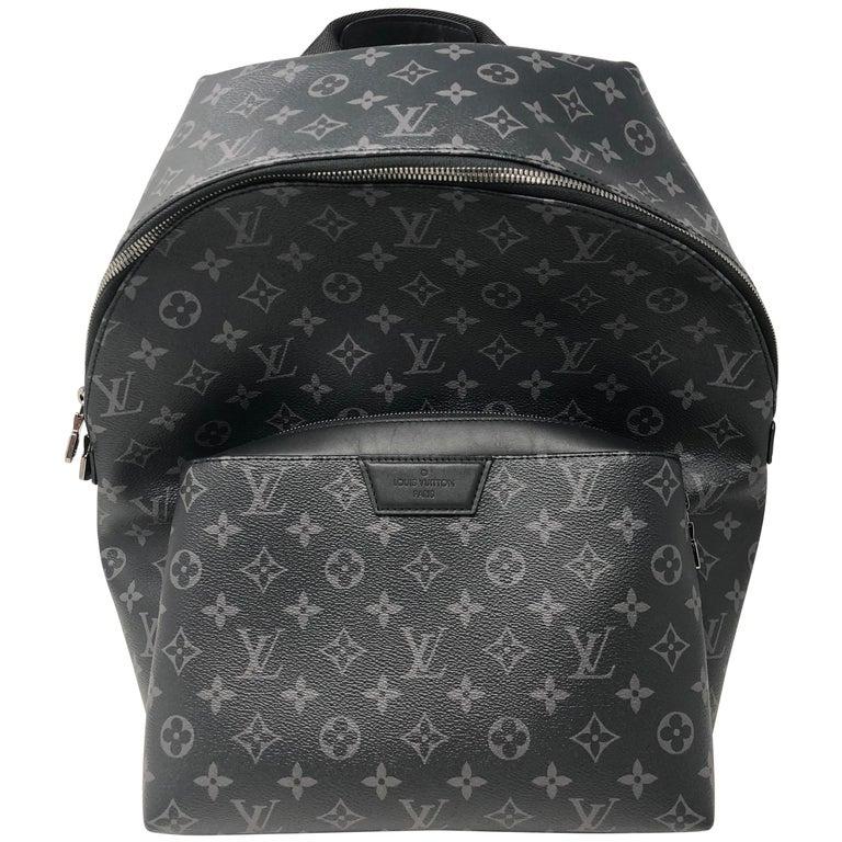 Louis Vuitton Black Monogram Eclipse Backpack