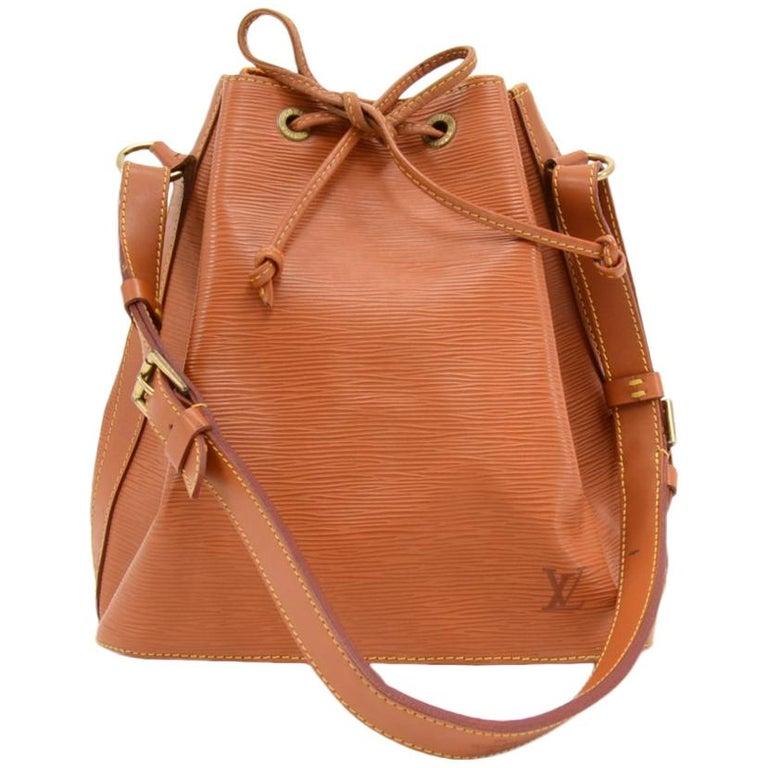 Vintage Louis Vuitton Petit Noe Cipango Gold Epi Leather Shoulder Bag For  Sale ad3953a8e8
