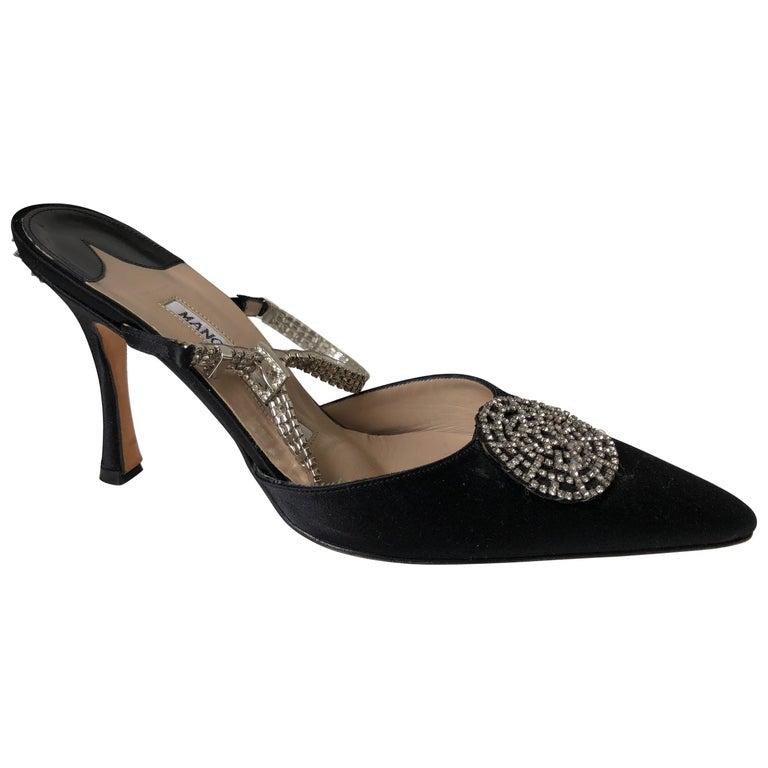 Manolo Blahnik Pointed Toe Shoe 36 For Sale
