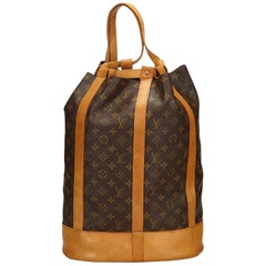 Louis Vuitton Brown Monogram Randonnee GM