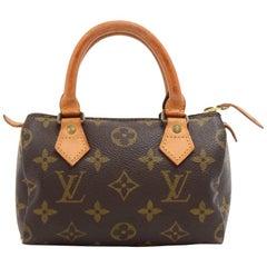 Vintage Louis Vuitton Mini Speedy Sac HL Monogram Canvas Hand Bag
