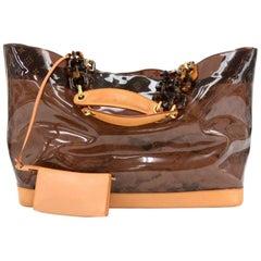 Louis Vuitton Sac Cabas Ambre GM Monogram Vinyl Limited Tote Bag