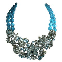 Heidi Daus Blue Sea Necklace