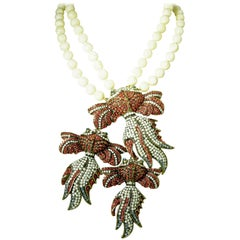 Heidi Daus Famous Koi Fish Necklace