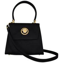 Gianni Versace Couture Mini Satin Evening Bag with Medusa Head
