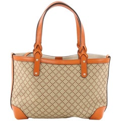 Gucci Craft Tote Diamante Canvas Small
