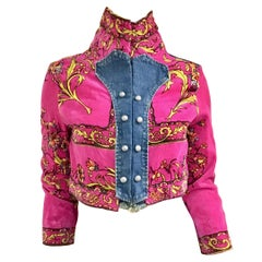 Upcycled 1970s Pucci Jacket