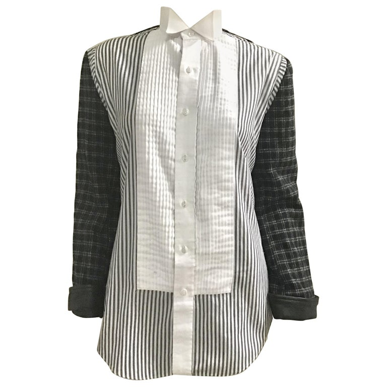 Pleated Front Shirt Jacket
