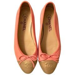 Chanel Ballerina Flats - Size 37.5