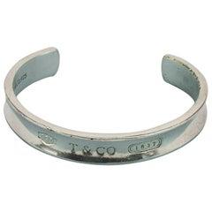 Tiffany Sterling Silver Mens Cuff Bracelet
