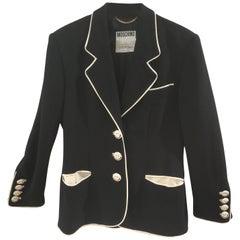 Moschino Couture Black Smiles Blazer