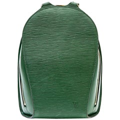 LOUIS VUITTON Backpack in Green Epi Leather
