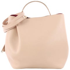 Christian Dior Diorific Bucket Bag Leather Small