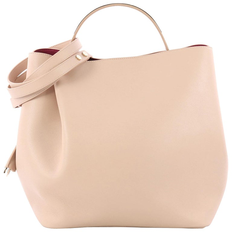 Christian Dior Diorific Bucket Bag Leather Small For Sale at 1stdibs 07d6a4cc52437