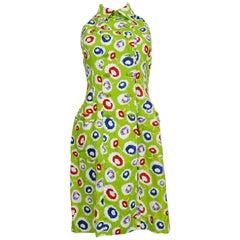 Chanel Boutique Vintage Linen Dress, Summer 1997